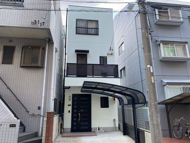 名古屋市北区T様邸外壁塗装工事・防水工事