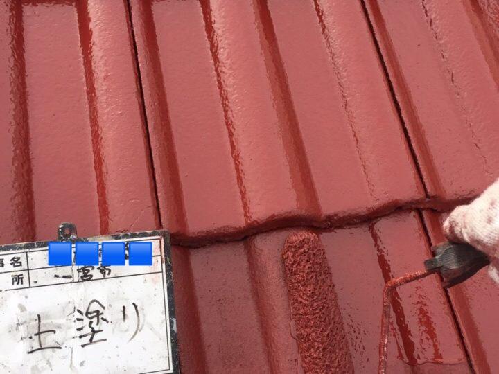 一宮市K様邸屋根塗装工事