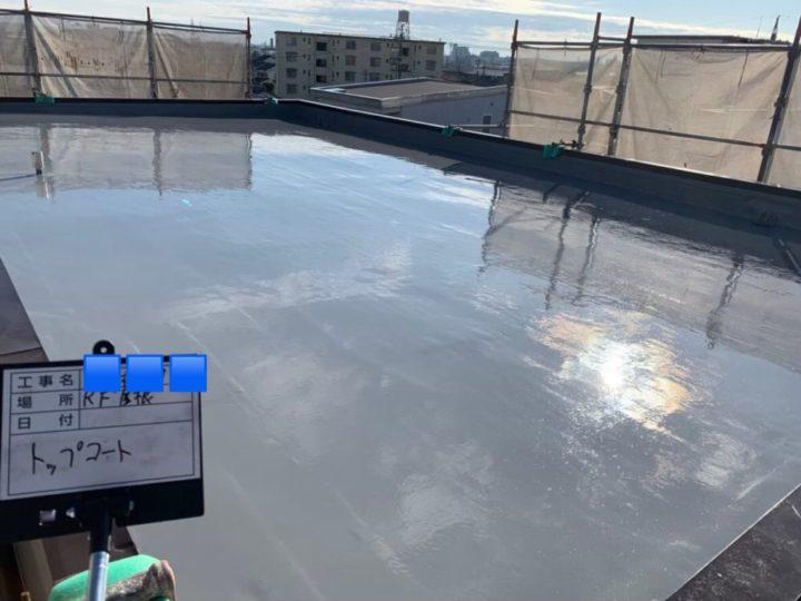 名古屋市北区M様邸屋上防水工事