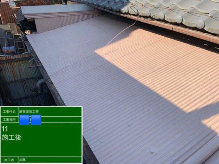名古屋市西区K様邸屋根塗装工事
