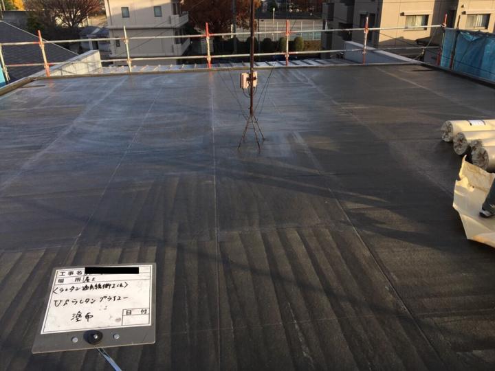 屋上 ウレタン通気緩衝工法