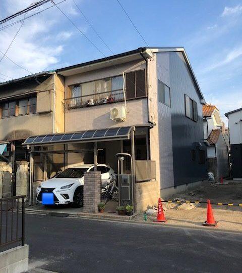 名古屋市北区N様邸外壁塗装工事・屋根塗装工事・シーリング打ち替え