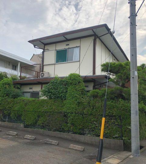 名古屋市北区Y様邸外壁塗装工事・屋根塗装工事・ベランダ木材造作工事