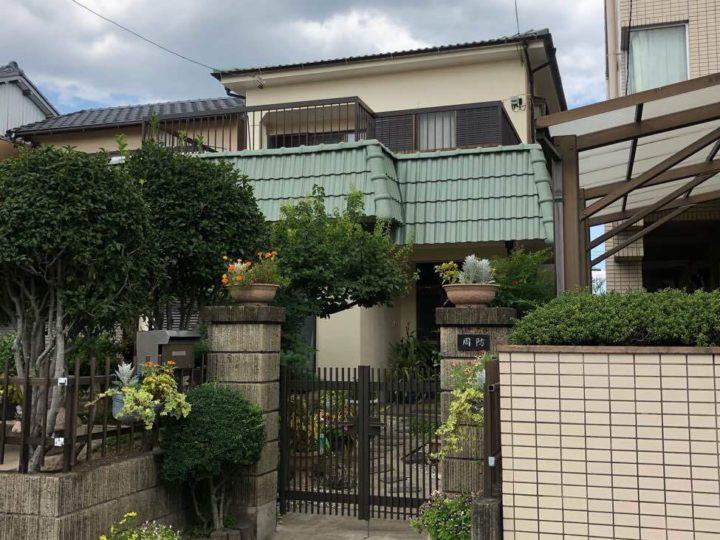 北名古屋市S様邸外壁塗装工事・屋根塗装工事・シーリング打ち替え