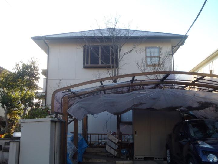 春日井市O様邸外壁塗装工事