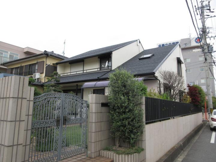 名古屋市北区H様邸外壁塗装工事・シーリング打ち替え