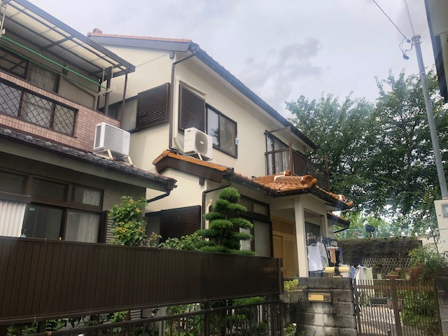 北名古屋市A様邸外壁塗装工事