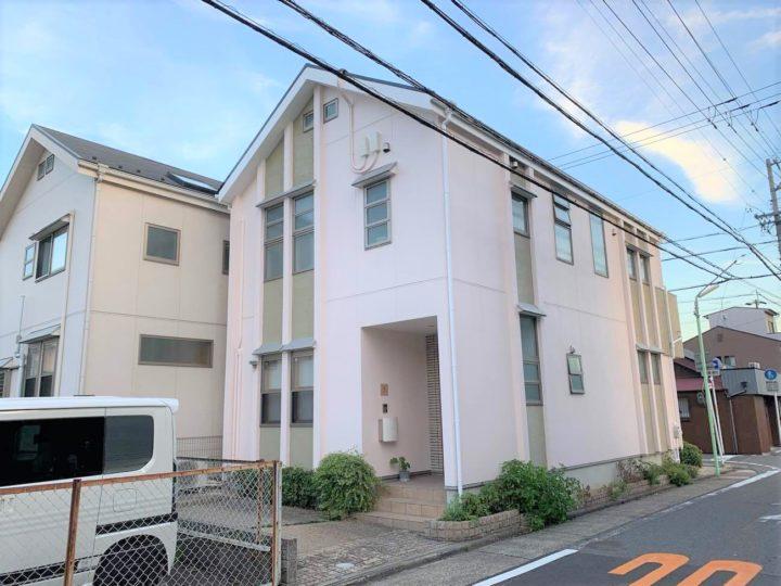 名古屋市北区M様邸外壁塗装工事・屋根塗装工事・コーキング打ち替え、打ち増し工事・ベランダ防水工事