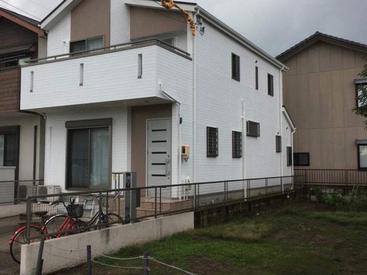 名古屋市北区K様邸外壁塗装工事・屋根塗装工事・シーリング打ち替え