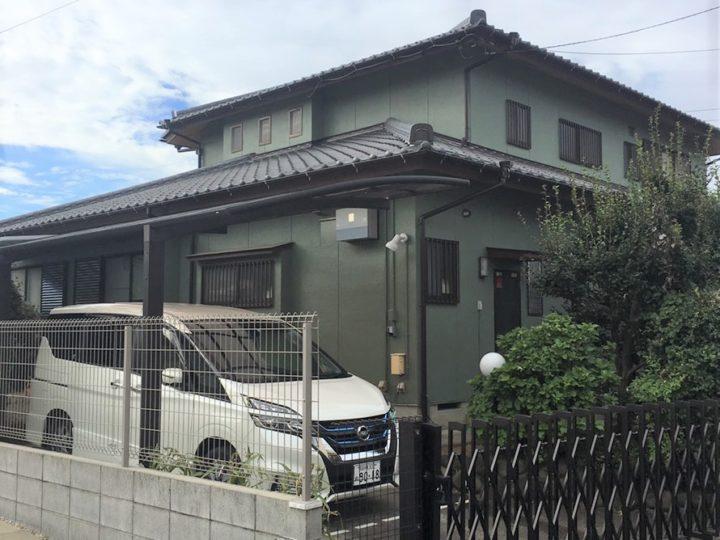 西春日井郡A様邸外壁塗装工事
