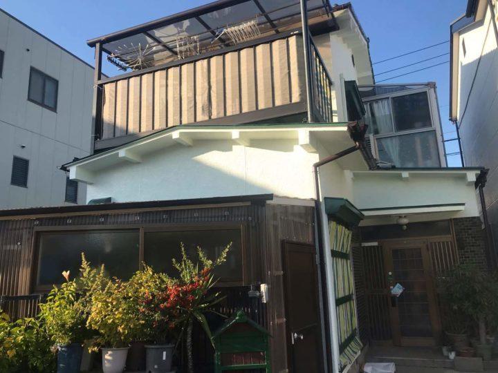 名古屋市北区E様邸外壁塗装工事・屋根塗装工事