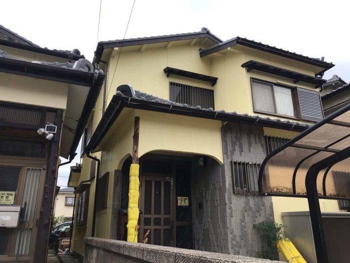 春日井市Y様邸外壁塗装工事