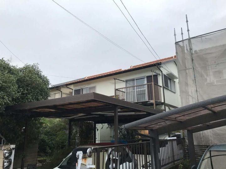 名古屋市港区H様邸外壁塗装工事