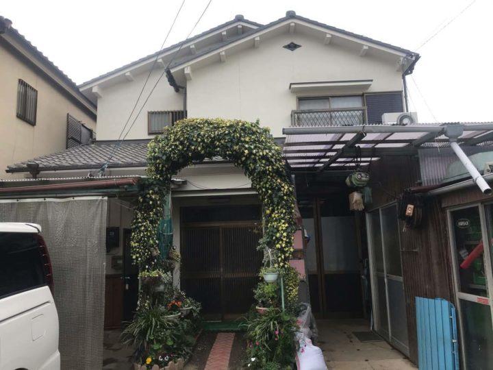 名古屋市北区S様邸外壁塗装工事屋根塗装工事