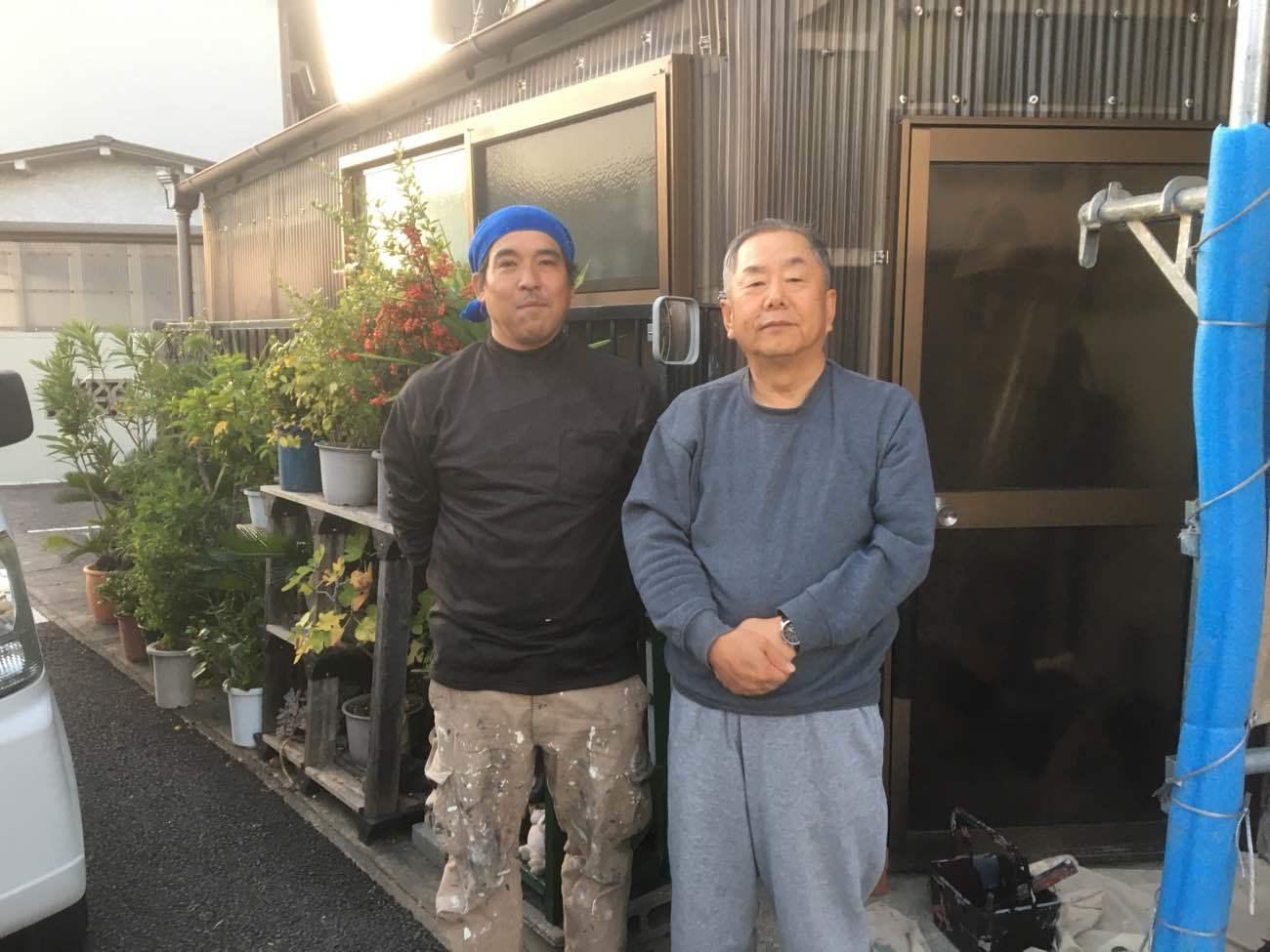 名古屋市北区E様邸外壁塗装工事・トタン屋根塗装工事・屋根修繕工事