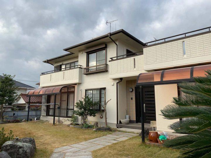 名古屋市千種区O様邸外壁塗装工事・屋根塗装工事