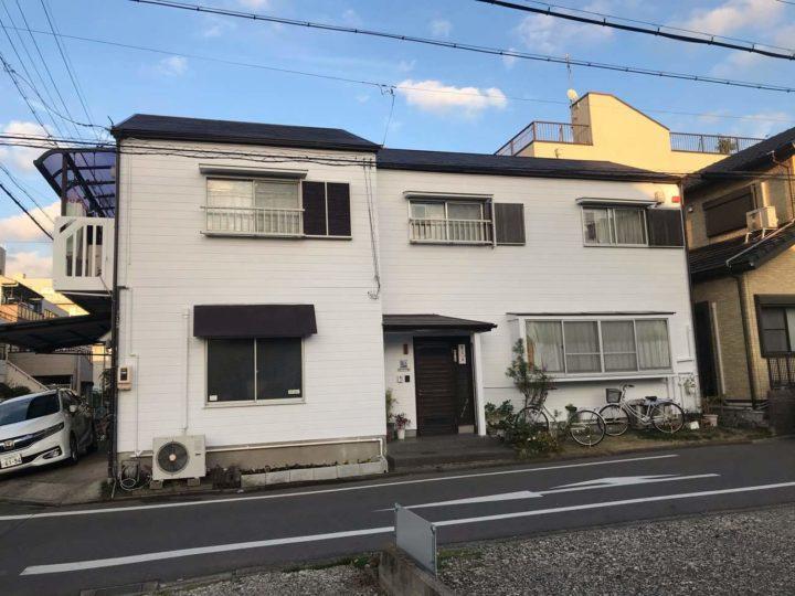 名古屋市北区H様邸外壁塗装工事・屋根塗装工事・シーリング打ち替え