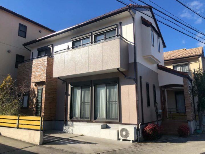 名古屋市北区S様邸外壁塗装工事・シーリング打ち替え