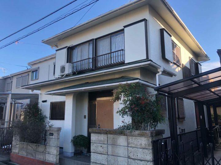 名古屋市北区M様邸外壁塗装工事屋根塗装工事