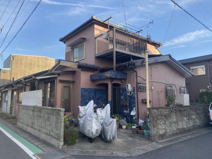 北名古屋市O様邸屋根塗装工事、外壁塗装工事、屋根塗装工事、雨樋改修工事、基礎塗装工事