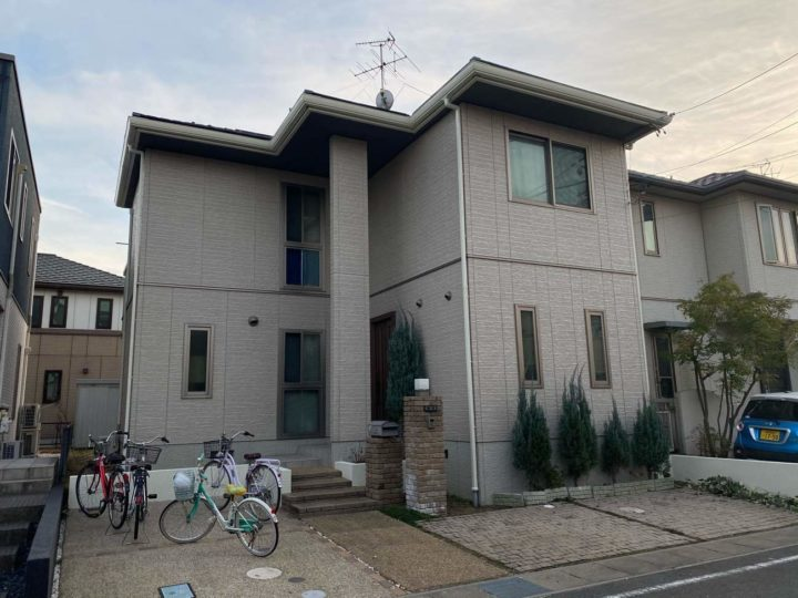 清須市N様邸外壁塗装工事