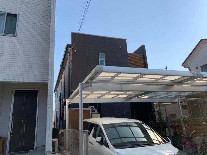 西春日井郡豊山町K様邸外壁塗装工事・コーキング打ち増し工事・ベランダ防水工事・屋根塗装工事