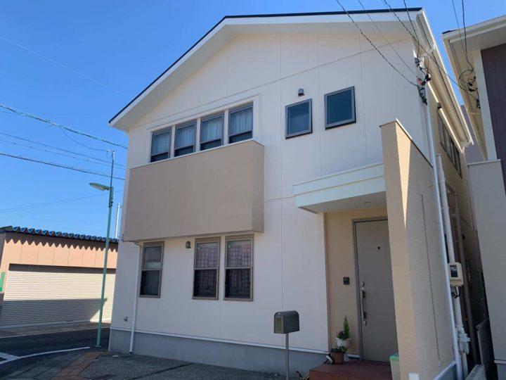 名古屋市北区S様邸外壁塗装工事コーキング打ち増し工事