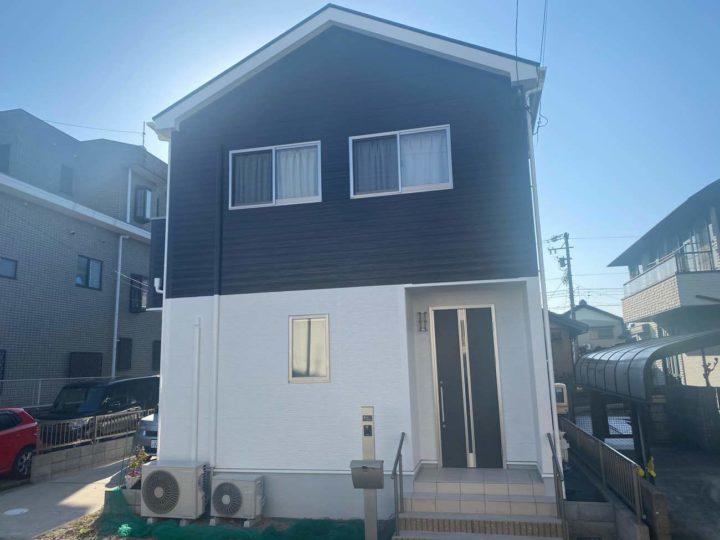 清須市M様邸外壁塗装工事・屋根塗装工事・コーキング打ち替え工事コーキング打ち増し工事・ベランダトップコート