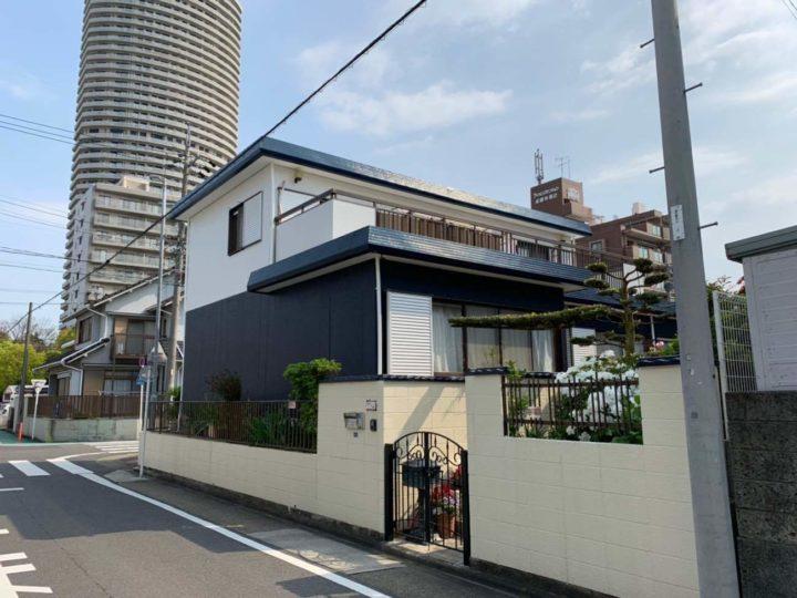 名古屋市北区H様邸外壁塗装工事・屋根塗装工事