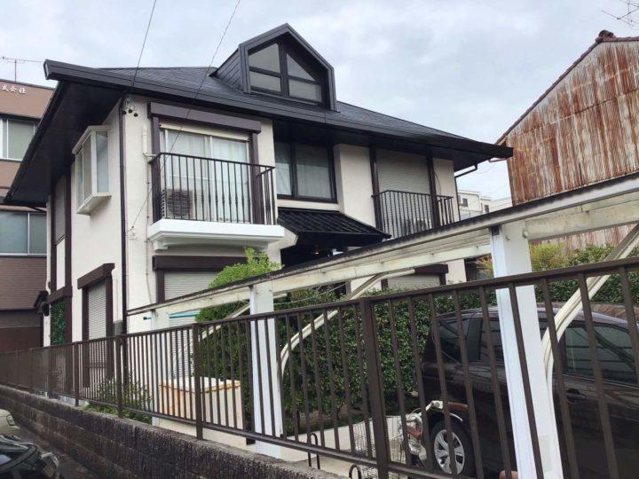 名古屋市北区O様邸外壁塗装工事・屋根塗装工事