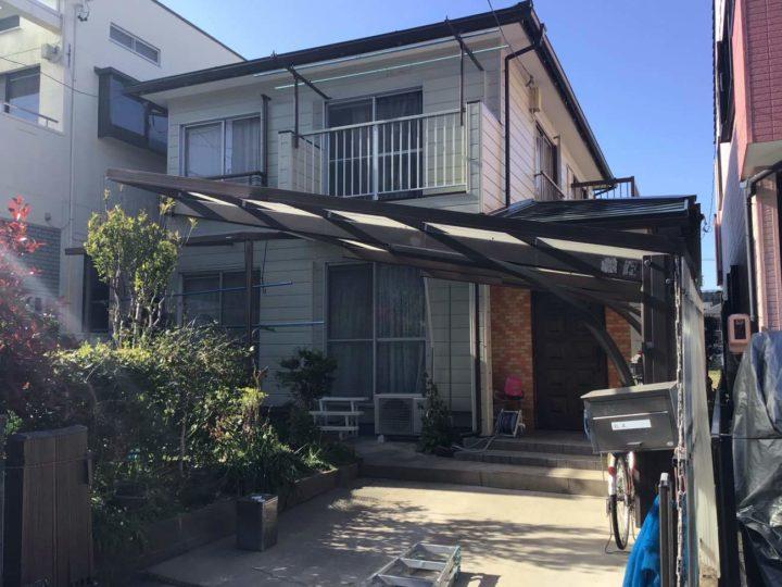 名古屋市北区M様邸外壁塗装工事・屋根塗装工事・基礎塗装工事・雨樋改修工事