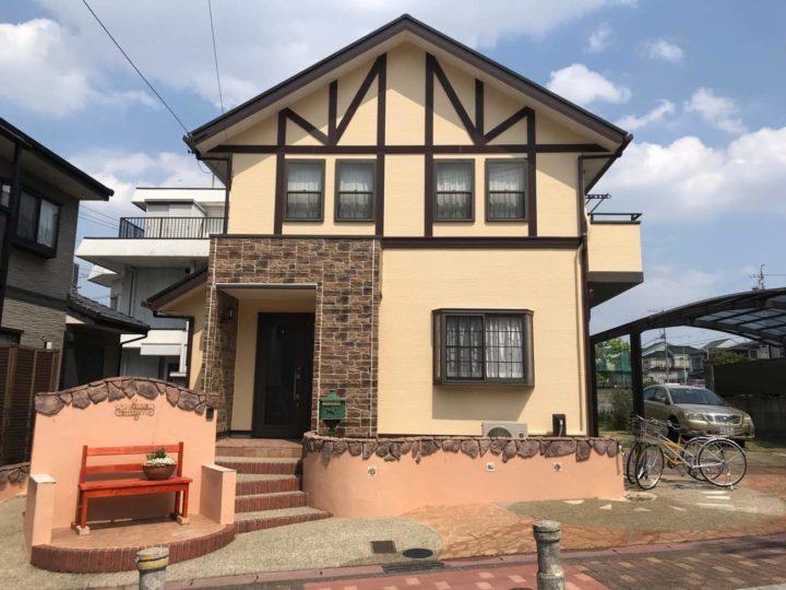 名古屋市守山区S様邸外壁塗装工事・屋根塗装工事・コーキング打ち増し、打ち替え工事