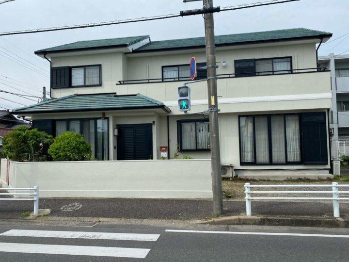 春日井市N様邸外壁塗装工事・コーキング打ち替え、打ち増し工事・ベランダ防水工事