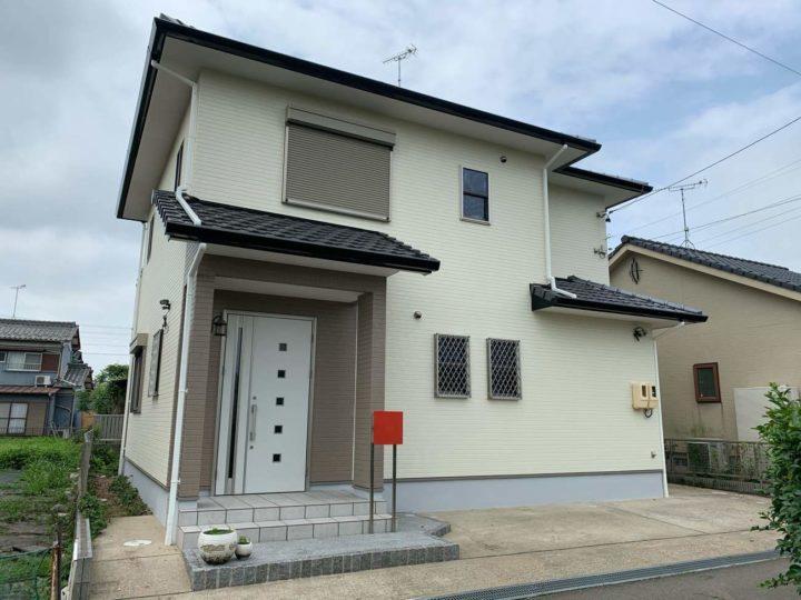 犬山市K様邸外壁塗装工事・コーキング打ち替え、打ち増し工事・基礎塗装工事