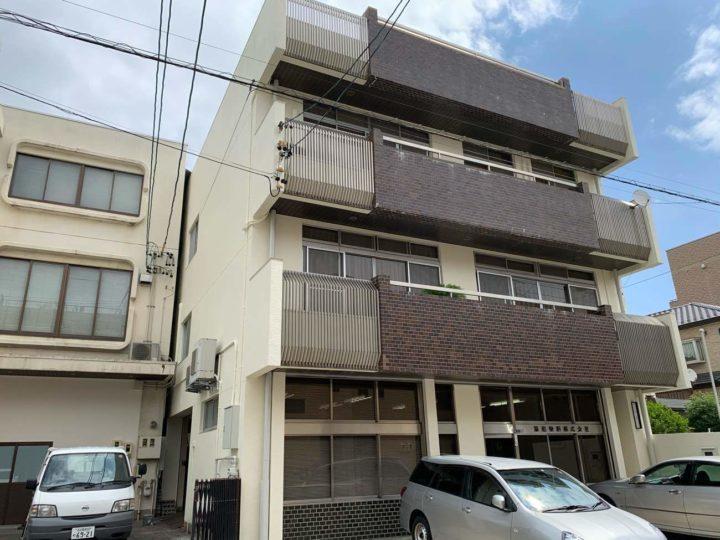 名古屋市西区K様邸外壁塗装工事・外壁塗装工事・屋上防水工事・コーキング打ち増し工事