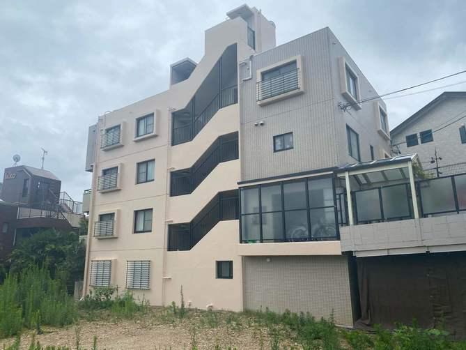 名古屋市千種区S様邸外壁塗装工事(一面)