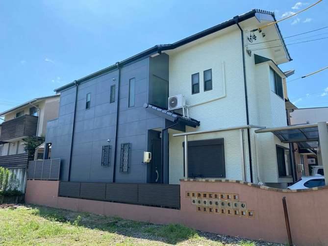 名古屋市中村区O様邸外壁塗装工事・コーキング打ち替え、打ち増し工事・ベランダ防水工事・屋根修繕工事