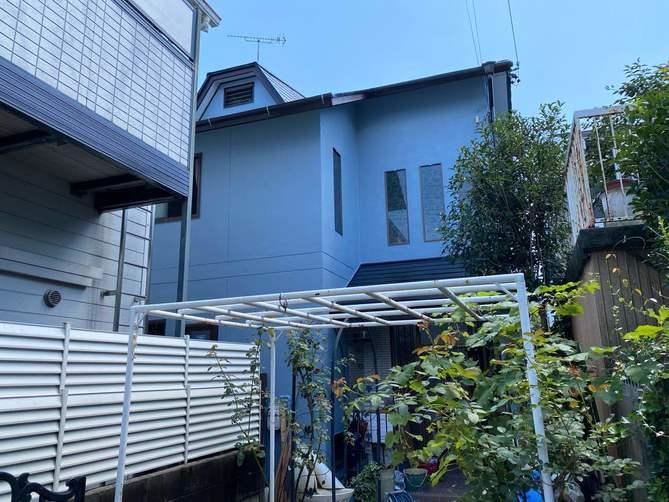 名古屋市昭和区H様邸外壁塗装工事・屋根塗装工事