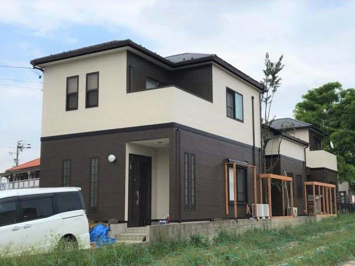清須市M様邸外壁塗装工事・コーキング打ち替え、打ち増し工事・ベランダ防水工事