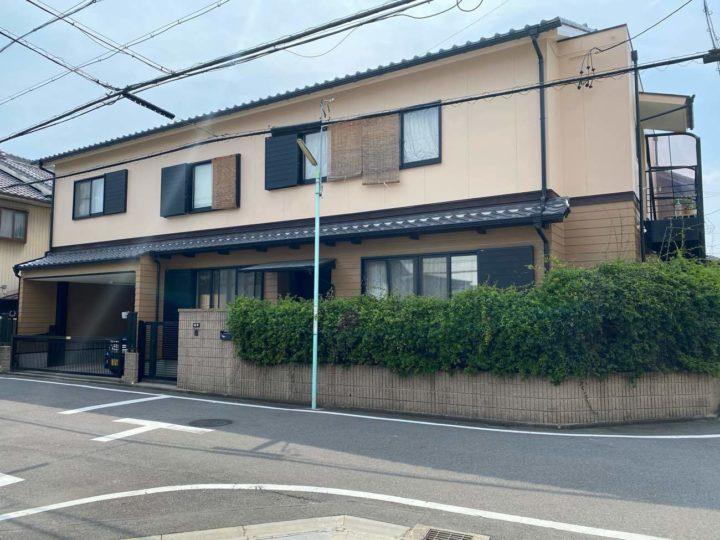 名古屋市北区M様邸外壁塗装工事