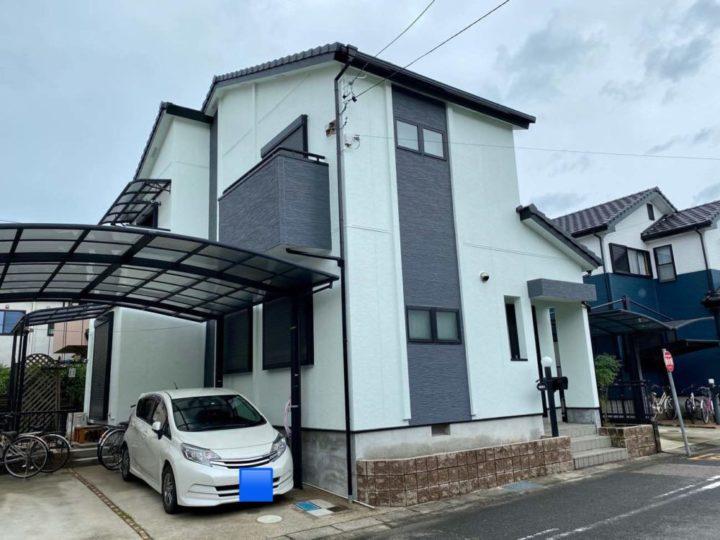 春日井市I様邸外壁塗装工事・コーキング打ち増し工事・屋根修繕工事・防水工事