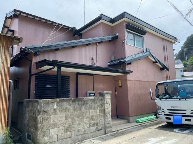 名古屋市北区S様邸外壁塗装工事・陸屋根防水工事・内装工事・屋根修繕工事