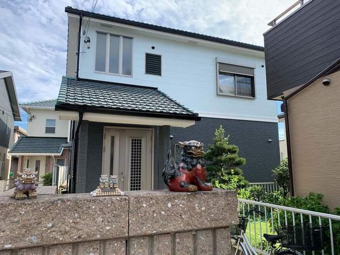 名古屋市守山区O様邸外壁塗装工事・コーキング打ち替え、打ち増し工事・ベランダ防水工事