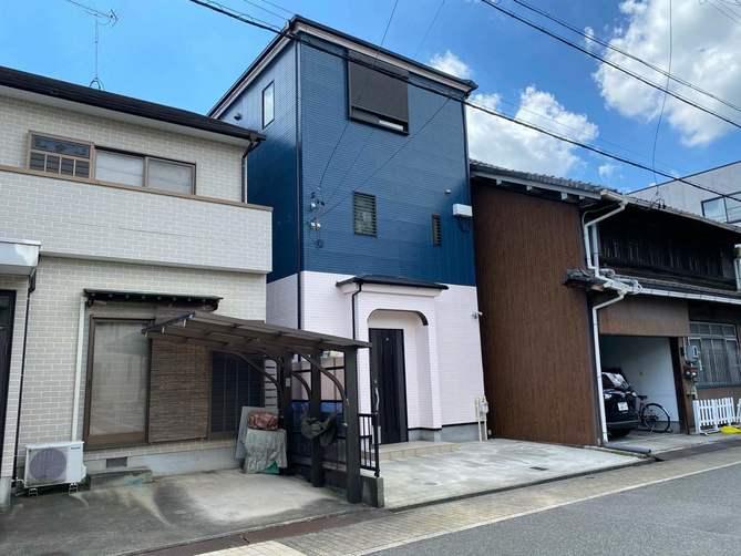 名古屋市西区M様邸外壁塗装工事・屋根塗装工事・コーキング打ち替え、打ち増し工事・ベランダ防水工事