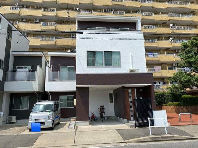 名古屋市北区T様邸外壁塗装工事・屋根塗装工事・コーキング打ち替え、増し工事・ベランダトップコート工事