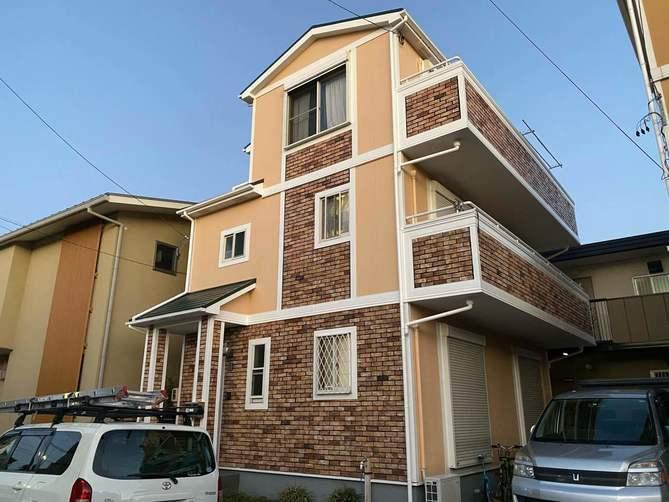 千種区M様邸外壁塗装工事・屋根塗装工事