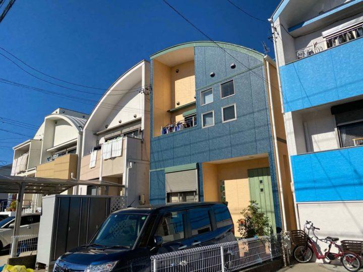 名古屋市北区S様邸外壁塗装工事・屋根塗装工事・コーキング打ち替え、打ち増し工事