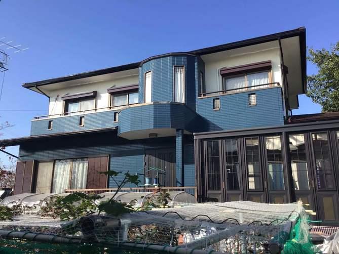 守山区K様邸外壁塗装工事・屋根塗装工事・コーキング打ち替え、打ち増し工事