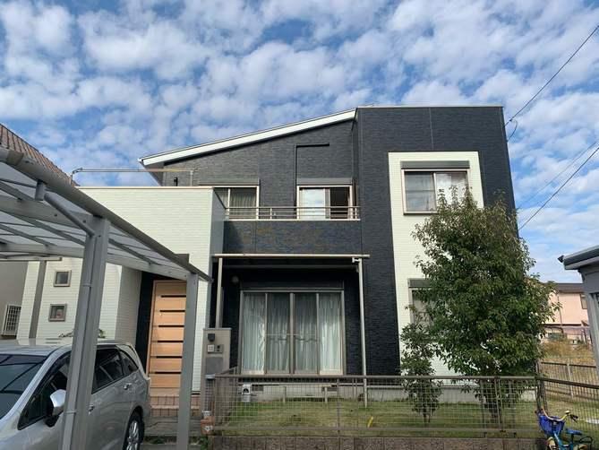 一宮市N様邸外壁塗装工事・コーキング打ち替え、打ち増し工事