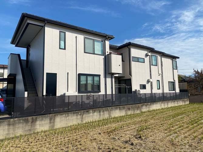 西春日井郡K様邸外壁塗装工事・コーキング打ち替え、打ち増し工事・天窓改修工事・雨樋改修工事